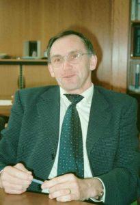 René vigouroux ancien président de l'union départementale du Finistère