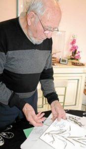 Jean Lozac'h ancien président de l'union départementale